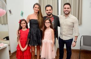 Wanessa e o irmão, Igor, prestigiam show do pai, Zezé Di Camargo. Fotos!