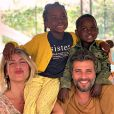 Bruno Gagliasso e Giovanna Ewbank aumentaram a família em julho de 2019 com a chegada de Bless, de 4 anos