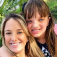 Ticiane Pinheiro é mãe de Rafaella Justus, de 10 anos