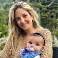 Ticiane Pinheiro se derreteu ao receber a visita de Fabiana Justus, filha de seu ex-marido, Roberto Justus: 'As meninas são maravilhosas. Estou apaixonada'