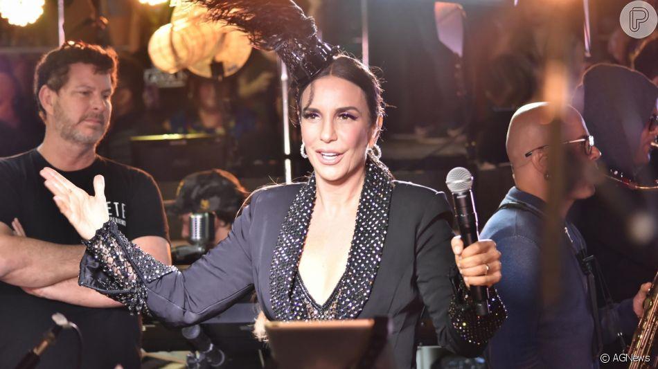 Ivete Sangalo fez a primeira aparição pública depois da morte do irmão nesta sexta-feira, 15 de novembro de 2019