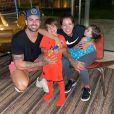 Ex-BBB Adriana Sant'Anna é casada com Rodrigão, com quem tem 2 filhos