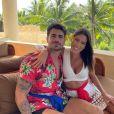 Marido de Adriana Sant'Anna, Rodrigão exibe tatuagem no peito nesta quarta-feira, dia 27 de novembro de 2019