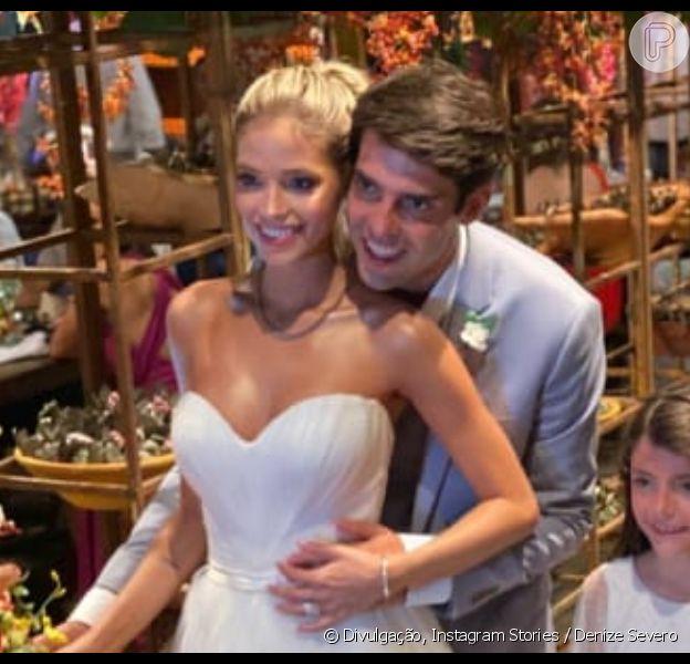 Carol Dias e Kaká se casam em resort em Itacaré, na Bahia, em 30 de novembro de 2019