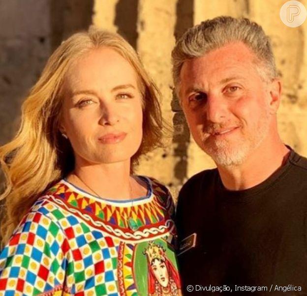 Angélica beija Luciano Huck e apresentador fica tímido na TV, em 7 de dezembro de 2019