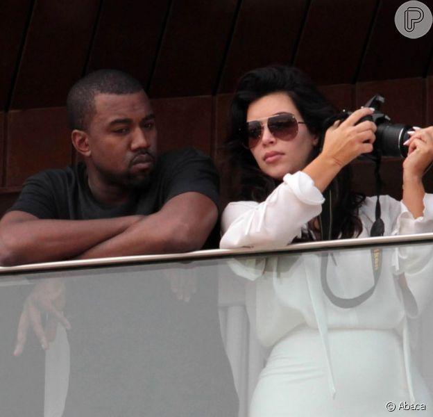 Kanye West e Kim Kardashian serão pais de uma menina. A socialite está grávida de 4 meses