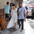 Kim Kardashian e Kanye West estiveram no Brasil durante o Carnaval do Rio. Os dois se encantaram pelo país