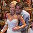 Kaká se declara em grego para mulher, Carol Dias, em casamento. Veja vídeo dos bastidores da festa!