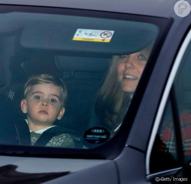 Filho caçula de Kate Middleton e William surpreende por crescimento em novas fotos feitas nesta quarta-feira, dia 18 de dezembro de 2019