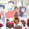 Filha de Tatá Werneck e Rafael Vitti, Clara Maria ganhou festa de 2 meses inspirada na série 'Chaves'
