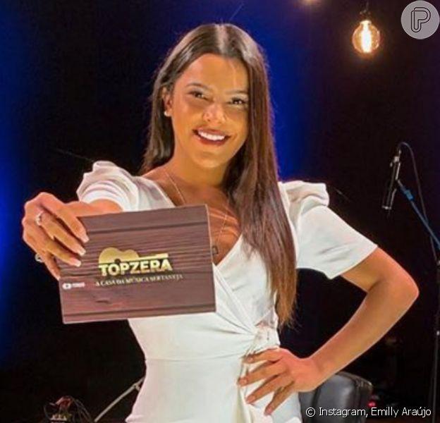 Emilly Araújo ganha primeiro programa e comemora: 'Estava na internet e agora vai pra TV antes do fim do ano'