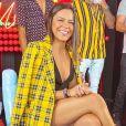 Emilly Araújo desistiu de seguir carreira de atriz: ' Fui fazendo testes e vendo que tem que ser muito f* para conseguir se colocar um personagem e se tornar uma outra pessoa'