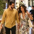 Fátima Bernardes e Túlio Gadêlha passearam juntos em shopping no Rio de Janeiro nesta sexta-feira, dia 27 de dezembro de 2019