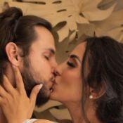 Festa dupla! Bruno Guedes surpreende Jade Seba com noivado em batizado do filho