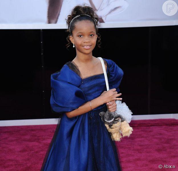 Quvenzhané Wallis, com apenas 9 anos, foi indicada ao Oscar de Melhor Atriz em 2013. A jovem será protagonista do filme 'Annie'