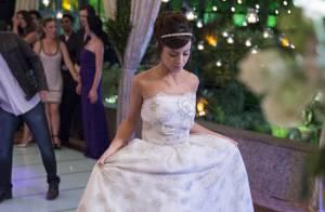 Veja detalhes do vestido de noiva de Andreia Horta em casamento de 'Império'