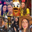 Grazi Massafera reuniu fotos da sobrinha Gabrielle no aniversário de 16 anos da adolescente