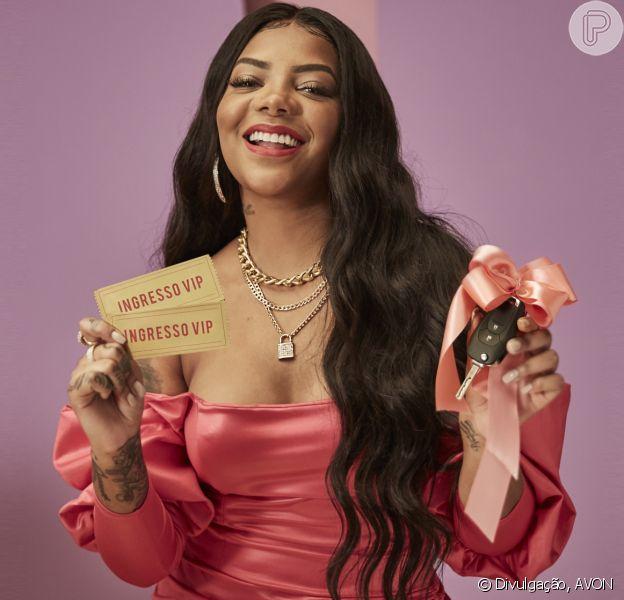 Make de diva: Ludmilla é apaixonada por batom e estrela a promoção Avon Hit & Make. Que tal se inspirar?