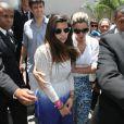 Giulia, filha de Flávia Alessandra e Marcos Paulo, se mantém na disputa por herança deixada pelo diretor
