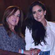 Solteira, Zilu curte show de Simone e Simaria e explica fim de namoro:'Desgaste'
