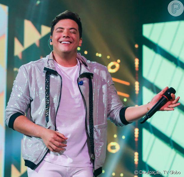 Wesley Safadão apareceu loiro em foto e foi comparado ao cantor Belo nesta quinta-feira, 20 de fevereiro de 2020