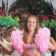 Paolla Oliveira, embaixadora da Duty Cosméticos, não abre mão de hidratar e cuidar do cabelo antes e depois do Carnaval