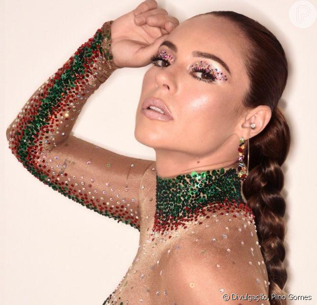 Carnaval de Paolla Oliveira: rainha da Grande Rio abre jogo sobre dieta, corpo e cabelo em entrevista ao Purepeople neste sábado, dia 22 de fevereiro de 2020