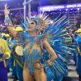 Rainha de bateria da Unidos da Tijuca, Lexa falou sobre fantasia usada no Carnaval