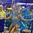 Lexa caiu durante estreia como Rainha de Bateria da Unidos da Tijuca