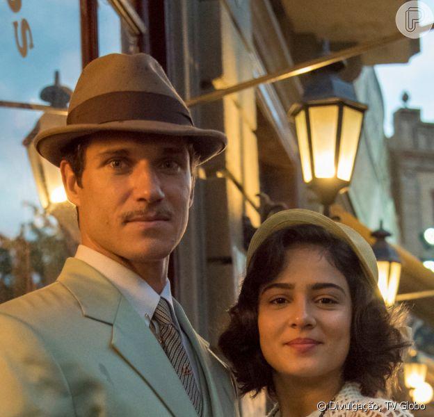 Nos próximos capítulos da novela 'Éramos Seis', Isabel (Giullia Buscacio) passa por dificuldades ao fugir com Felício (Paulo Rocha)