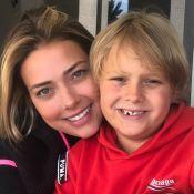 Carol Dantas explica dieta e malhação do filho Davi Lucca: 'Foi visando a saúde'