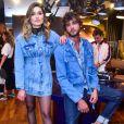 Sasha Meneghel e Marlon Texeira sãogarotos-propaganda da marca Forum
