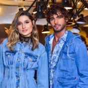 Sasha Meneghel prestigia evento fashion com Marlon Teixeira, ex de Marquezine