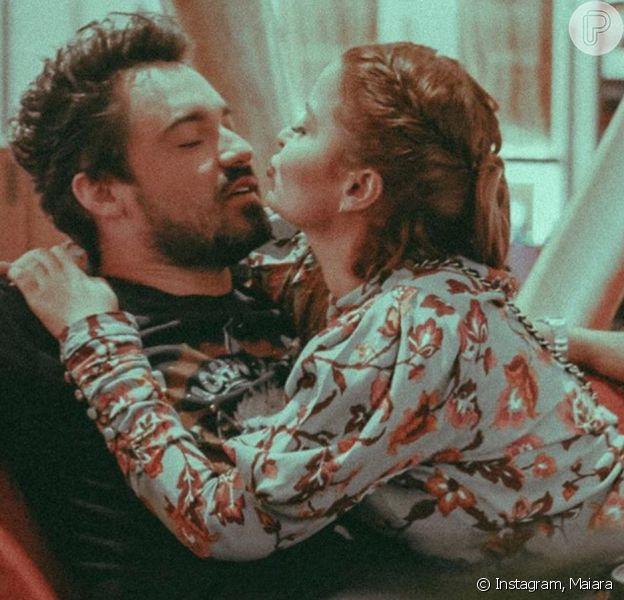 Maiara e Fernando Zor afastam fim de namoro após terem perfis do Instagram deletados