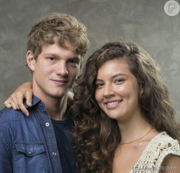 Fim da novela 'Malhação: Toda Forma de Amar': Rita (Alanis Guillen) fica em liberdade e termina ao lado de Filipe (Pedro Novaes)