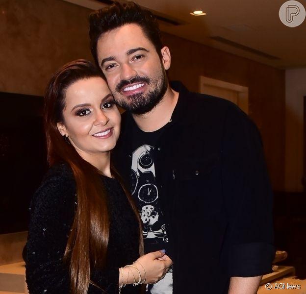 Dupla de Maraisa, Maiara pediu o namorado, Fernando Zor, em casamento nas rede sociais