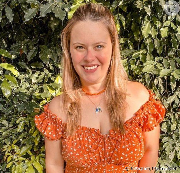 Simplicidade de Mariana Bridi, mulher de Rafael Cardoso, chamou atenção na web nesta terça-feira, 31 de março de 2020