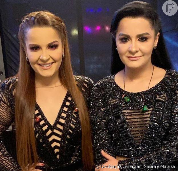 Maiara e Maraisa anunciaram uma live com vários sertanejos no próximo dia 17 de abril de 2020