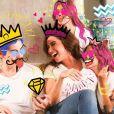 Giovanna Antonelli mostra montagem divertida com os três filhos na Páscoa