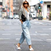 Conheça a calça jeans que está em alta no street style! Saiba dicas para usar já