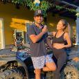 A mulher de Sorocaba, Biah Rodrigues, não abre mão dos exercícios na gravidez