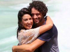 Separados,Giselle Itié lamenta distância de Guilherme Winter na criação do filho