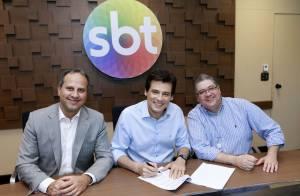 Celso Portiolli renova contrato com SBT por três anos: 'É minha casa'