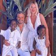 Giovanna Ewbank, em 1ª gravidez, recebeu tratamento de beleza dos filhos Títi e Bless