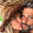 Giovanna Ewbank está grávida de oito meses do filho com Bruno Gagliasso