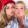Giovanna Ewbank diz que Títi e Xuxa começaram amizade em 2018: 'Depois que a gente terminou de gravar, a Xuxa ficou com a Titi por uma hora brincando'