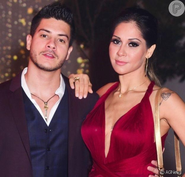 Arthur Aguiar apaga vídeo sobre traição e abuso no casamento com Mayra Cardi