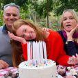 Marina Ruy Barbosa reúne os pais, Gioconda e Paulo Ruy Barbosa, ao comemorar 25 anos