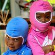Filhos de Bruno Gagliasso e Giovanna Ewbank, Bless e Títi são fãs dos Power Rangers