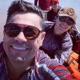 Maraisa e namorado, Fabricio Marques, embarcam em viagem romântica após reconciliação